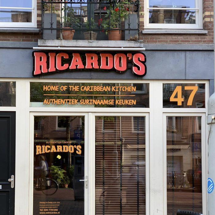 beste Surinaamse eettent van Amsterdam