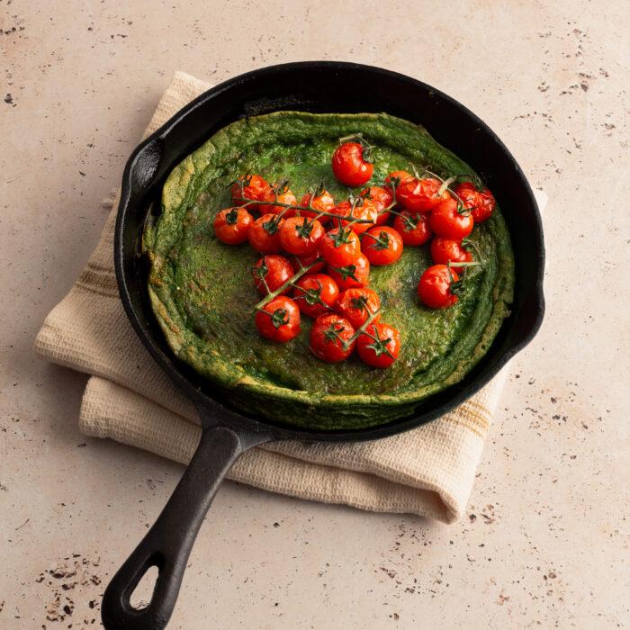 frittata met spinazie