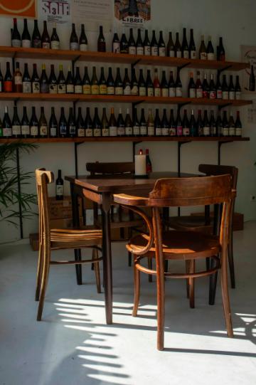Levain et le vin