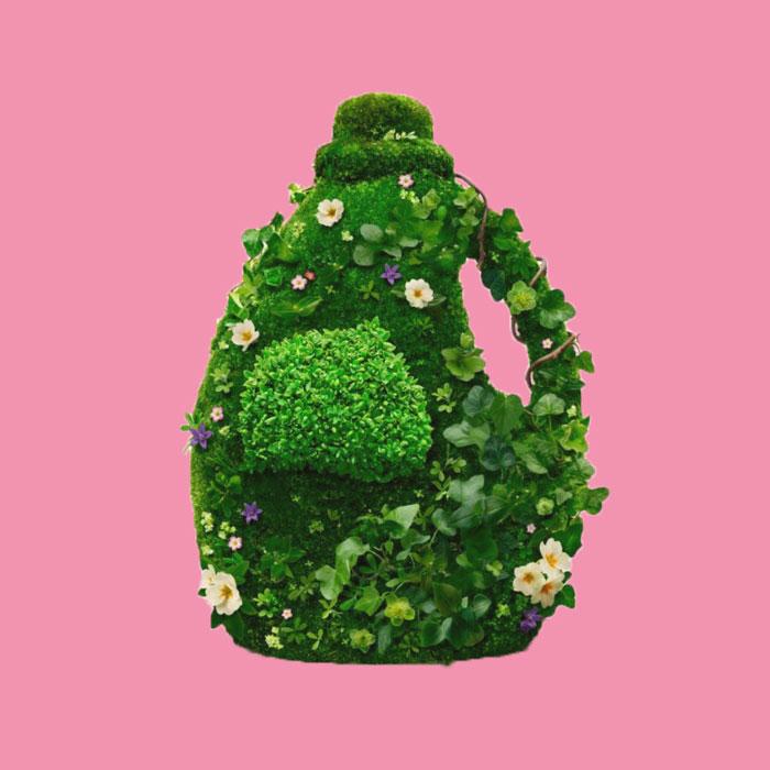 groen huis groen poetsen