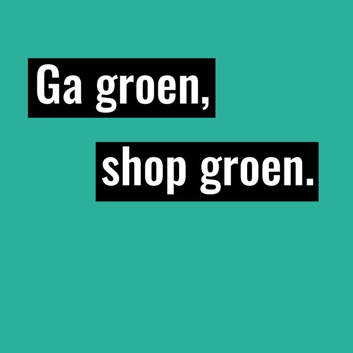 groen shoppen
